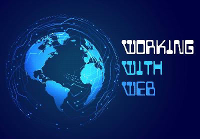 logo working with web web agency