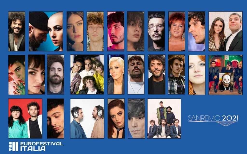 Resoconto Sanremo 2021 Partecipanti